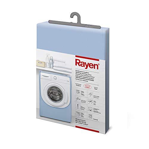 Rayen | Coperchio lavatrice medio | Coperchio per lavatrice a caricamento frontale | Copertura per lavatrice e asciugatrice | Materiale PVA | 84x60x60 cm