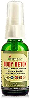 BodyHealth Body Detox Drops Oral Spray - Complete natural liquid cleansing formula for kidney, liver, intestines cleanse, Best Immune booster & Powerful antioxidants