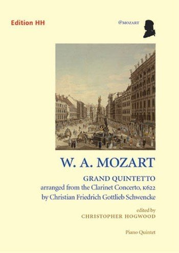Mozart, Wolfgang amadé : Grand 151510 Quintetto FROM Clarinet Concerto