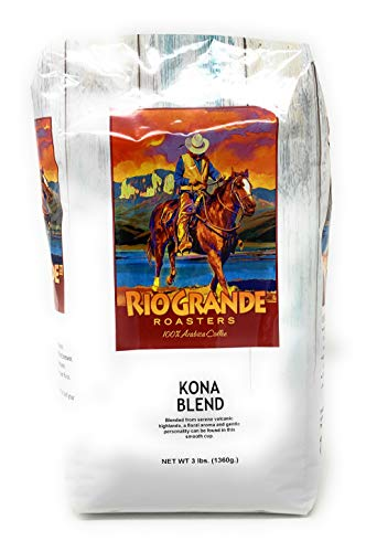 Kona - Rio Grande Roasters Kona Blend 3 Lb. Bag Whole Bean Coffee