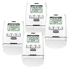 4 Stück Premium Elektronischer Thermostatventil