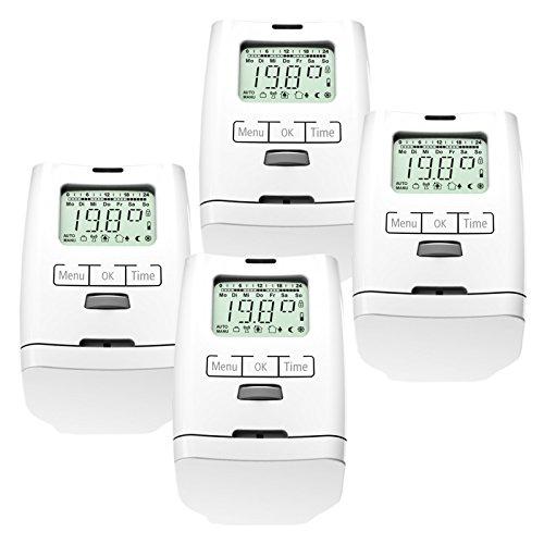 Olympia 4 Stück Premium Elektronischer Thermostatventil Bild