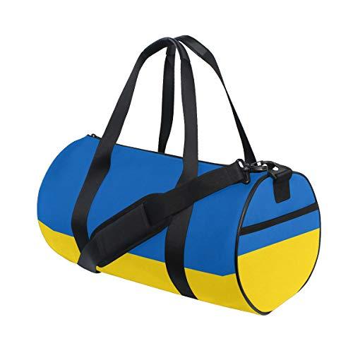 DEZIRO Fahne of Russia Sport Duffle Bag Trommel Sporttasche