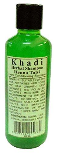 Khadi Henna & Tulsi Shampoo 210ml