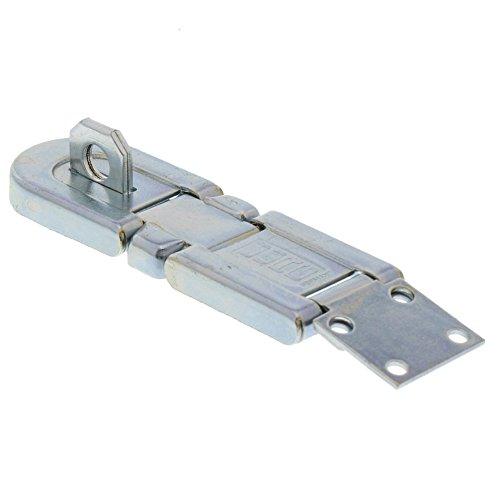 Burg-Wächter Sicherheits-Vorrichtung für Vorhängeschloss, Für uneben schließende Türen, 99 mm verzinkt, 1 Stück, PK 1 SB