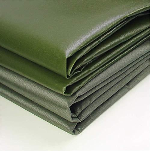 ZMXZMQ Tarp Cover Army Green, waterdicht Heavy Duty zeildoek, waterdicht, ideaal voor zeilen, baldakijn tent, boot, camper of zwembad afdekking