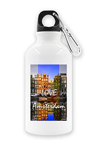 C+P Sunny I Love Amsterdam Beautiful Landscape Tourist waterfles