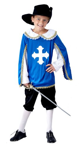 Mousquetaire enfants Age Fancy Dress Costume 7-9 [Jouet]
