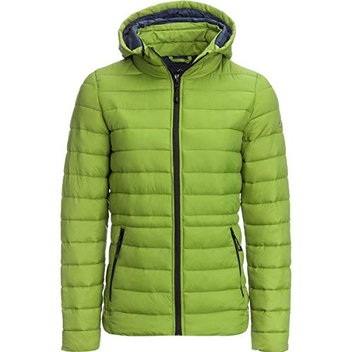 HFX Puffer Synthetic Jacket - Women's Pea Green/Marine Navy, XL