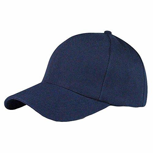 ZZBO Cap Mode Kappe Basecap Herren und Damen Baseball Cap Schirmmütze UV Cap Visiere Cap Einfarbig Mütze Verstellbar für Sport Reise Outdoor Freizeit Streewear
