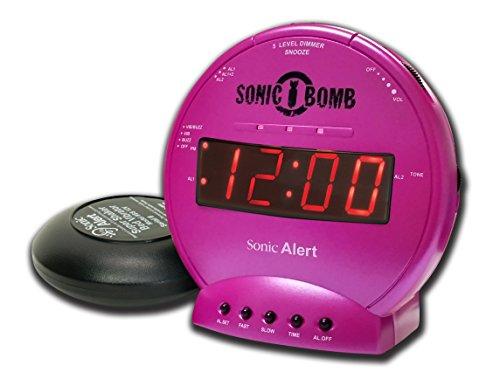 Geemarc Sonic Bomb, trilwekker, roze