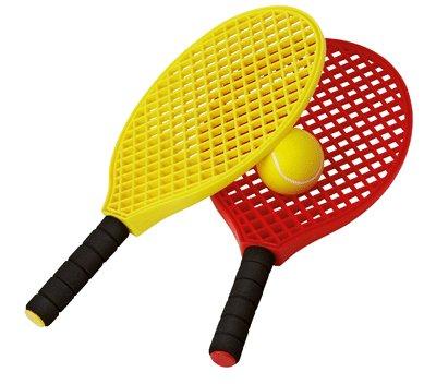 Generic Raquette Mini Tennis (Lot De 6) + 3 Balles