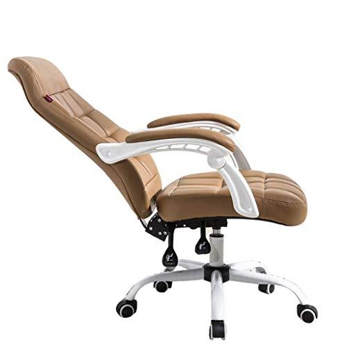 Sedia da Gioco Sedia Gaming Computer Chair casa confortevole Reclining Ufficio Sgabello sedia girevole sedia Anchor Esports Chair (Color : Brown)