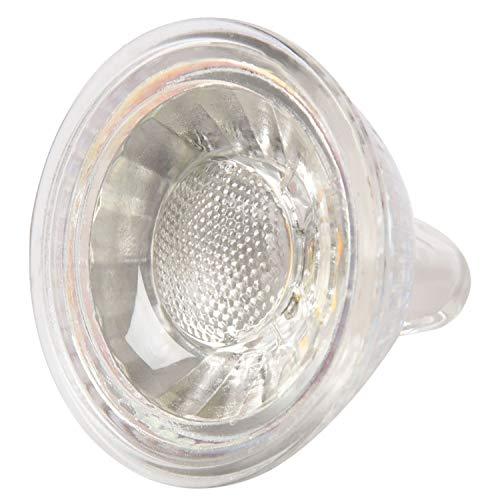 Hrsptudorc 1x Faretto LED 5W MR16 (GU5.3) Faretto a LED dimmerabile per casa AC220-240V, bianco caldo