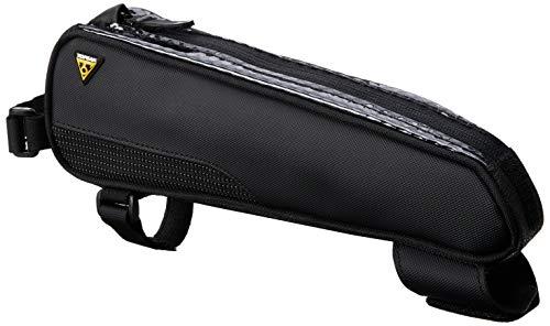 TOPEAK Bolsa para Bicicleta Fastfuel Tribag, para el Cuadro, Color Negro, tamaño 29x5.5x8.5 cm, 0.7 L