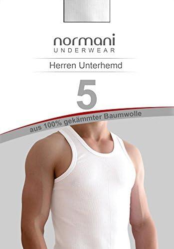 Herren Unterhemd 100/% gekaemmte Baumwolle Einlaufvorbehandelt Sportjacke original Gear Up Exclusive 4 x Tank Top