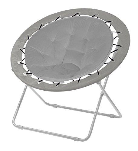 Urban Shop Grey Bungee Chair