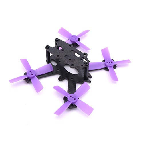 ELF X2 88mm 88 Carbon Fiber Frame Kit Mini Light for Indoor Interior RC FPV Cross Racing Drone Quadcopter with 1935 Propeller