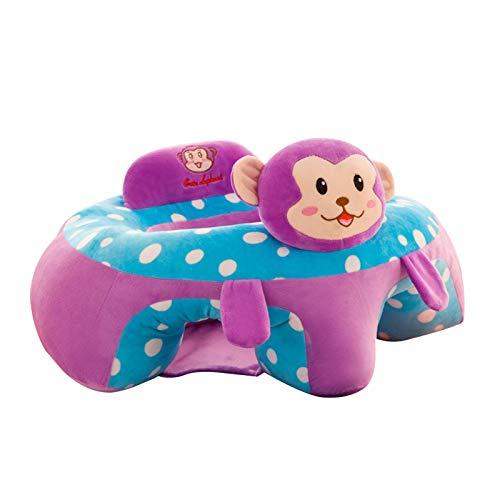 chinejaper Baby-Sitzstuhl weicher Baby-Sofa Sessel Cartoon Tierform Sitzkissen, Baby-Stützfütterungs Sicherheits Plüsch Spielzeug für Baby 6 + Monate
