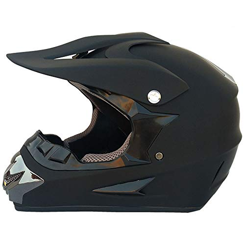SISI Professioneller Motocross-Helm, Motorrad-Kreuzhelme Mit Brille/Maske/Handschuhe,...