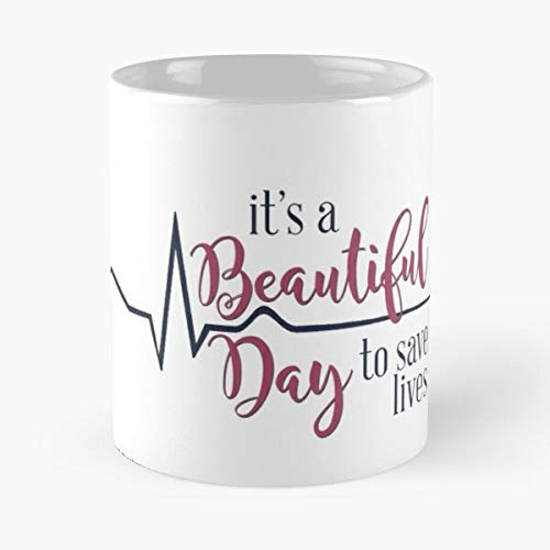 Meredith Binge Netflix Drama Greys Tv Derek Sheppard Grey Anatomy Best 11 oz Kaffeebecher - Nespresso Tassen Kaffee Motive