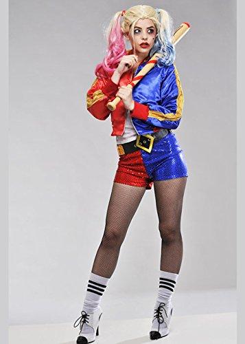 Delights Disfraz de Suleydón de Mujeres Adultas Harley Quinn L (UK ...