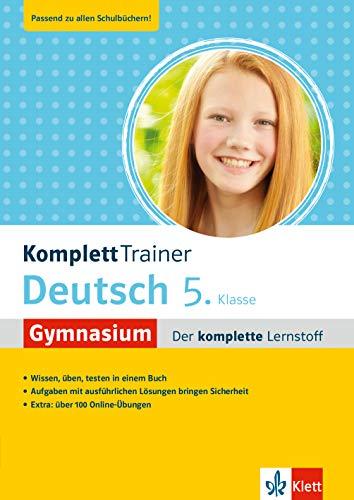Klett KomplettTrainer Gymnasium Deutsch 5. Klasse: Der komplette Lernstoff