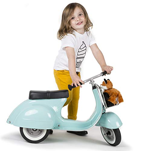 Ambosstoys Toddler Scooters for Boys and Girls Primo – Durable, Valuable and Timeless Design Kids Ride on Toys for 2 Year Old - 3 - 4 - 5 Year Olds, Collectors and Design Lovers