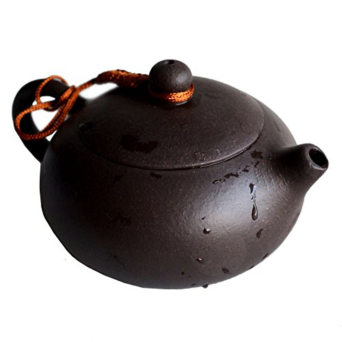 Chinesische Yixing-Teekanne, echter schwarzer Sand-Heijingan-Tee, Xishi-Töpfe, 200 ml