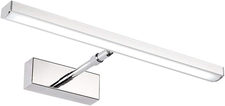 Led-Spiegelschrank Badezimmer Wasserdicht Beschlagfrei Spiegel Scheinwerfer A+ (Gre  12 W (Wei 49 Cm))