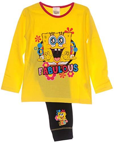 Pyjama Set Kinder Schlafanzug Sponge Bob 104 110 116 122 128 140 146 152 Mint (9-10 Jahre)