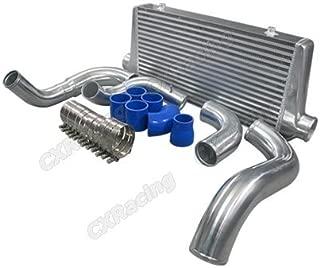 CXRacing Turbo FMIC Intercooler Kit For 240SX S13 S14 S15 RB20 RB25 Engine Swap