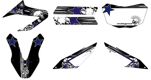 race-styles Aufkleber kompatibel mit Yamaha WR 125 X Premium Factory DEKOR Decals Sticker KIT