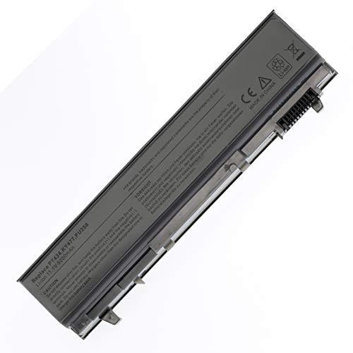 BTMKS Notebook Laptop Li-ion battery for Dell Latitude E6400 E6410 E6500 E6510 PT434 PT435 PT436 PT437 KY477 FU268 MP490 4M529 M2400 M4400 M4500 6 Cell 11.1v 5200mAh/58WH