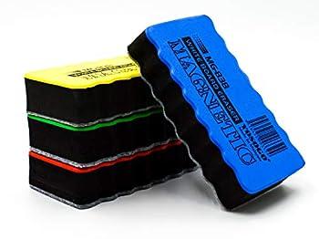 Magnetic Dry Erase Whiteboard/Chalk Board Duster/Eraser - Pack of 6