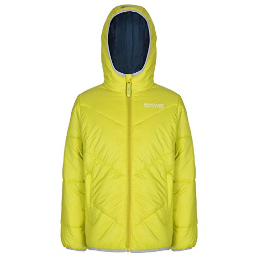 Regatta Icebound Synthetik-Daunen Jacke Neon Spring Kinder