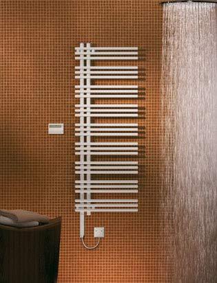 Zehnder Design Yucca elektrische radiator YAEL-130-40 / UD, Badkamerradiatoren: Chroom - ZY3X0338CR00000