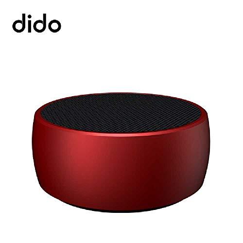 YUNYUE Bluetooth - Stereo - Lautsprecher - X1 Mini Wireless - Kleiner Tank Bluetooth - Lautsprecher und subwoofer Outdoor - maßgeschneiderte Kleine AKUSTIK 78 * 78 * 34mm/Rot