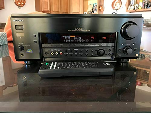 Learn More About Sony STR-DA3ES – AV receiver – 6.1 channel – black