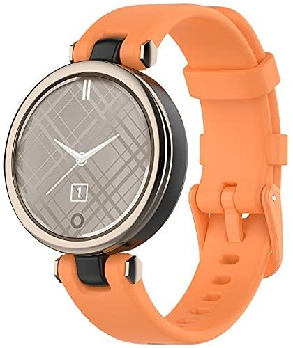Gransho Correa de Reloj Reemplazo Compatible con Garmin Lily, la Correa de Reloj Watch Band Accessorios (Pattern 7)