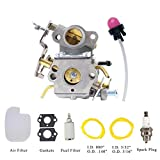 Pro Chaser PP4218A Replacement Carburetor for Poulan Pro PP4218A PP4018 PP3516AVX P3416 PP3816 P3314 Chainsaw Complete Carburetor Kit Fits Craftsman 358.350990 358350830 Replaces Walbro 0402 WTA30
