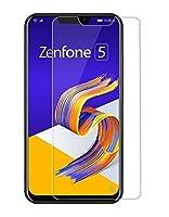 【全面保護 衝撃吸収タイプ】ASUS ZenFone 5 ZE620KL/ZenFone 5z ZS620KL専用 指紋、反射防止 気泡レス加工 ウルトラ衝撃吸収液晶保護フィルム