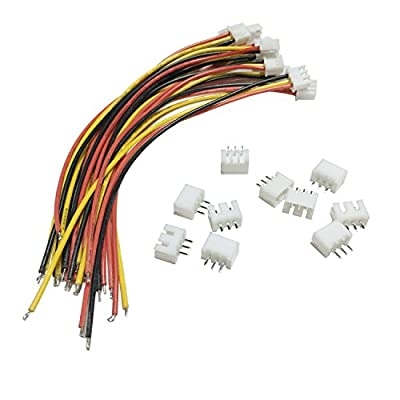 SIX VANKA JST-XH Connector Adapter Plug Battery Wire Balance Extension Cable for Li-Po Batteries