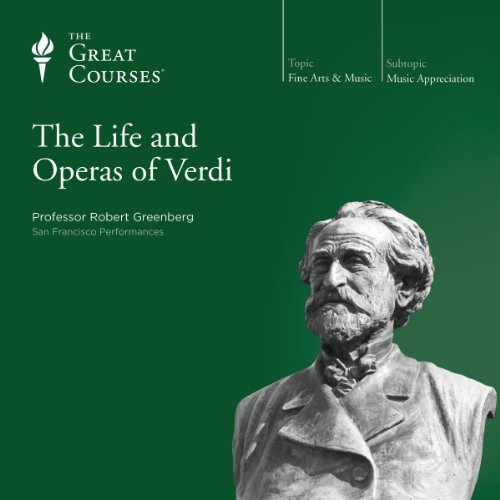 『The Life and Operas of Verdi』のカバーアート