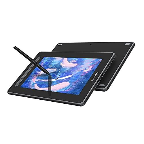 XP-PEN Artist 12 2. Generation Grafiktablett, 11,6 Zoll 127{ac4363ddb3cd703c7c858763566fa01cbe36ea9c337a90510e9abf59686c286d}sRGB vollaminiertes Pen Display, X3 Smart Chip, kompatibel mit Win/Mac, Android, Chrome OS, Linux (Schwarz)