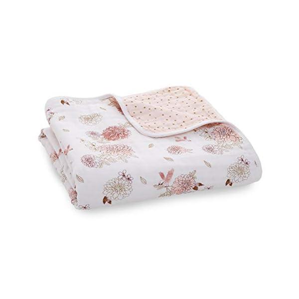 aden + anais Classic Dream Blanket, Dahlias – Dahlias