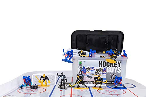 Kaskey Kids Hockey Guys: Rangers vs. Bruins Inspires Imagination with Open-Ended Play Includes 2 Full Teams and More For Ages 3 and Up