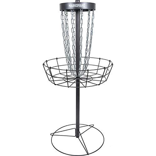 Dynamic Discs Marksman Lite Disc Golf Basket | Precision Frisbee Golf Basket | 15 Chain Portable Disc Golf Target | Easy Assembly & Lightweight