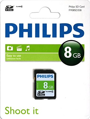 Philips SD-kaart Class 4 8 GB, SDHC