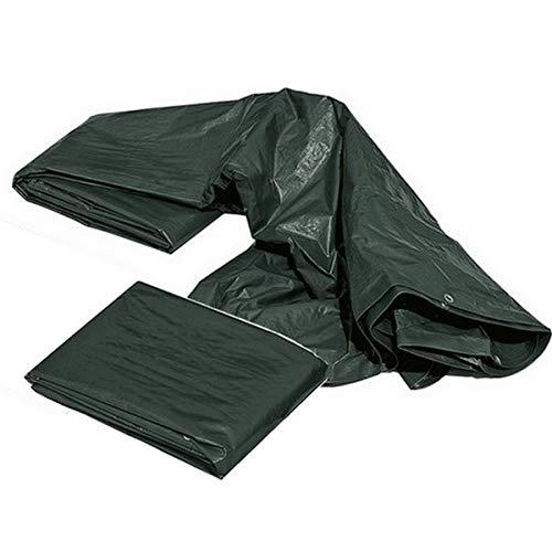 SUPERSAMASTORE Telo telone occhiellato Impermeabile mt 3x5 Verde - 240 gr/m²